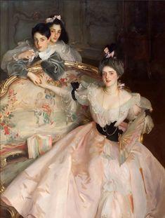 Mrs. Carl Meyer and her children, John Singer Sargent, 1896.