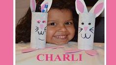 Manualidades Charli-Charli's DIY Crafts - YouTube  Como hacer un conejito de Reciclaje How to make a Rabbit with recycle materials