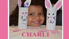 Manualidades Charli-Charli's DIY Crafts - YouTube  Como hacer un conejito de Reciclaje How to make a Rabbit with recycle materials