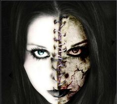 It would make an amazing Halloween makeup! Scary :)