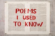poem i used to know - Google-haku