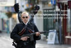 Hot Fuzz...Simon Pegg is freakin' awesome