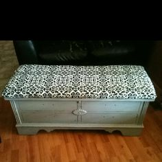 Refurbished my old hope chest