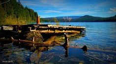 Featured Art - Johnson Lake BC by Guy Hoffman