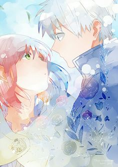 So cuteeee- Shirayuki and Zen- Snow White with the Red Hair