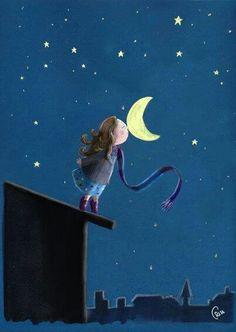 Besitos de buenas noches