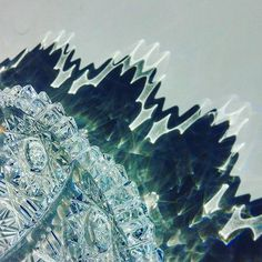 Spectacular wavy effect made by crystal glass Diamond Cuts, Bohemian, Traditional, The Originals, Crystals, Detail, Glass, Pictures, Jewelry