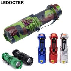 20000LM LED Flashlight Tactical Torch 3 Modes Lamp By  Battery Q5 LED RE