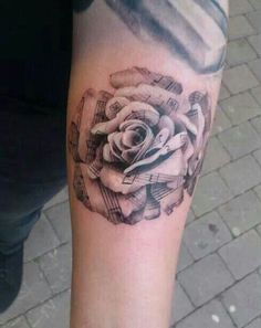 Rose and Music Notes