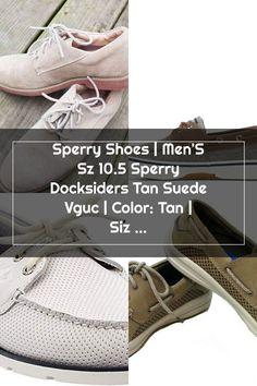 Sperry Shoes | Men'S Sz 10.5 Sperry Docksiders Tan Suede Vguc | Color: Tan | Size: 10.5 Sperrys Men, Sperry Shoes, Size 10, Sneakers, Color, Fashion, Sperry Sneakers, Tennis, Moda