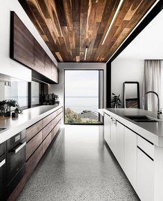 Modern Home Decor Kitchen Best Kitchen Designs, Modern Kitchen Design, Interior Design Kitchen, Urban Interior Design, Stylish Kitchen, Urban Design, Interior Design Examples, Interior Design Inspiration, Design Ideas