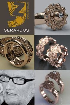 Zeeuwse sieraden 'Echt Zeeuws' uit Atelier Ger de Bruijn te Hulst Jewelry Art, Antique Jewelry, Jewelry Rings, Folklore, Netherlands, Wedding Rings, Bling, Engagement Rings, Jewels