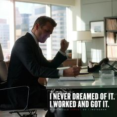 While you were lying on the couch dreaming of it, i went out, worked and got it. . . #WhatWouldHarveyDo #work #harveyspecter #hustle #gabrielmacht #harveyspecterquotes #hustlehard #hustle #hustler #motivationalquotes #wwhd