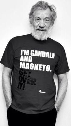 Ian McKellen. What a legend!