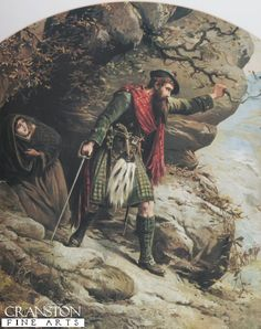 The Last Stand--after the Massacre at Glencoe. I have this print. I think the real MacDonald survivors would not have been wearing the red plaid, maybe hunting plaids! Scottish Clans, Scottish Highlands, Clan Macdonald, Scottish Culture, Glen Coe, Scotland History, The Bonnie, England Ireland, Legends And Myths
