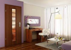 Dýhované dveře DOVER LUX Teak, Divider, Entryway, Room, Furniture, Home Decor, Luxury, Entrance, Bedroom