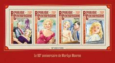 """CA16112a 90th anniversary of Marilyn Monroe (""""The Asphalt Jungle"""", 1950; Louis Calhern (1895-1956); """"Niagara"""", 1953; the movie """"The Seven Year Itch"""", 1955; Billy Wilder (1906-2002); the movie """"The Misfits"""", 1961)"""