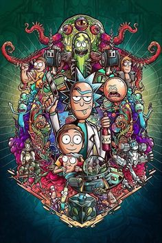 Rick And Morty Morty Rick Rickandmorty pertaining to Rick And Morty Crazy Wallpaper - All Cartoon Wallpapers Crazy Wallpaper, Graffiti Wallpaper, Trippy Wallpaper, Cartoon Wallpaper, Graffiti Art, Iphone Wallpaper, Rick And Morty Image, Rick Und Morty, Rick And Morty Drawing