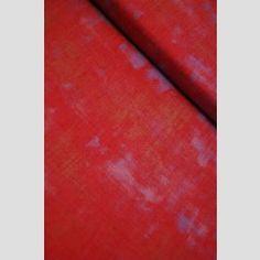 Red - Grunge Basics - Basic Grey - Moda Fabric