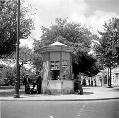 Quiosque do Príncipe Real, 1959 Lisbon, Kiosk