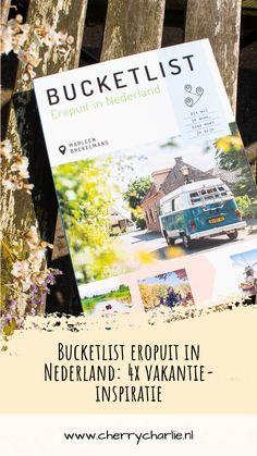 """De zomer komt er langzaam maar zeker aan, dus voor veel mensen betekent dat vakantiedagen doorgeven en een vakantie boeken. Vorig jaar, met corona, hebben we met zijn allen wel ontdekt dat we niet per se naar verweggistan hoeven voor een toffe vakantie. Nederland zelf heeft ook een hoop te bieden! Aan de hand van het boek """"Bucketlist eropuit in Nederland"""" geef ik je hier een paar handvatten voor een toffe vakantie in Nederland. Lifestyle Blog, Travelling"""