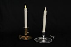 Candles in Holders to hire from Tiggs Props. Oliver.