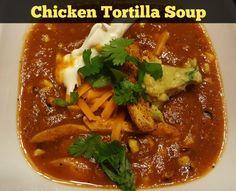 Chicken Tortilla Soup Recipe  |  Robyns.World