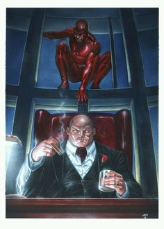 Dare Devil and Kingpin