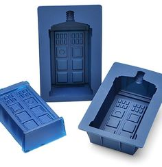Why not make an awesome little TARDIS cake or a TARDIS wibbly Wobbly Jelly.