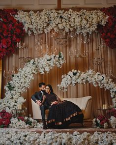 Universal decor specializes in unique and one of a kind event and wedding decor. Engagement Stage Decoration, Wedding Backdrop Design, Desi Wedding Decor, Wedding Stage Design, Wedding Hall Decorations, Luxury Wedding Decor, Wedding Reception Backdrop, Wedding Mandap, Indian Reception