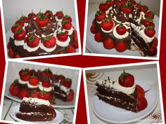 Moist+Chocolate+with+Strawberries+on+Cream