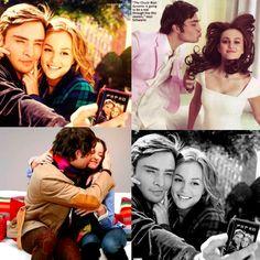 Blair & Chuck. This is adorable