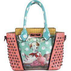 Nicole Lee Cupcake Dog Print Mini Handbag with FREE Shipping   Exchanges.  Elevate to urban b541c74b22664