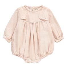 Wooden Button Romper-product