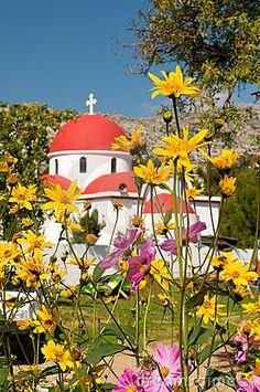 Greek catholic church in Crete