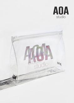 659c0fcf217 AOA Clear Makeup Pouch - AOA