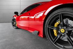 Ferrari 458 Speciale with Caprsito carbon fibre side fins, available now from Scuderia Systems.  See full exterior range for the Speciale here: http://scuderiasystems.com/Products/_prod_Capristo-Carbon-Fibre-Range---Ferrari-458-Speciale_2063.htm