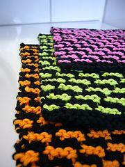 Ravelry: slip stitch dishcloth pattern by fourchette