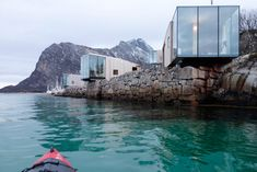 Our cabin rentals in Norway come in all shapes and sizes. They reflect the ideology and taste behind the visionaries who make them come to life - rent them ! Mini Vacation, Vacation Deals, Vacation Villas, Best Vacations, Vacation Destinations, Lofoten, Adventure Resort, Boutique Homes, New Property