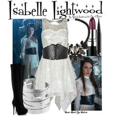 Inspired by Jemima West as Isabelle Lightwood in 2013's The Mortal Instruments: City of Bones.