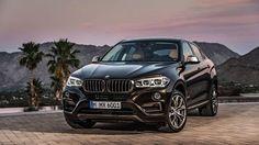 Black 2015 BMW X6 F16 4.4-liter V8 445 hp 1920×1080 HD