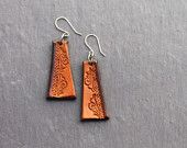Handmade Leather Earrings by Beara Belts West Cork, Cork Ireland, Leather Earrings, Handmade Leather, Belts, Unique Jewelry, Handmade Gifts, Vintage, Kid Craft Gifts