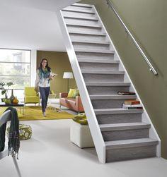 Traprenovatie Kahlua eiken Stairs, Home Decor, Ideas, Stairway, Decoration Home, Staircases, Room Decor, Ladders, Interior Decorating
