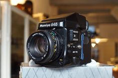 Mamiya M645 pro  + 2.8/80mm N + metered prism finder