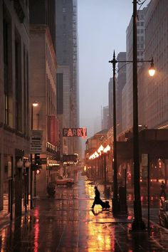 Rainy Night, New York City
