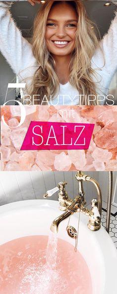 Salz macht reine Haut, sorgt für Entspannung und vieles Mehr! alles über das Beauty-Produkt #salz #salzkur #beautytips