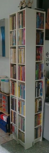 CD Shelf is perfect size for the pocket books.