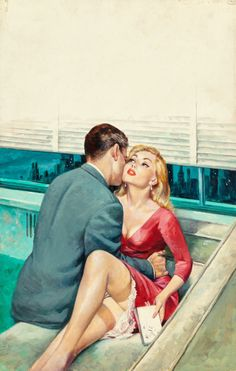 Office Wife, paperback cover, 1960