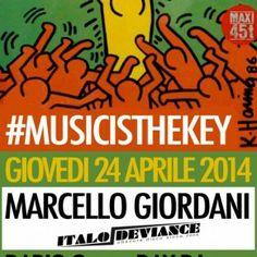 Music is the key presents: Marcello Giordani [disco, italo, house] http://www.theitalojob.com/2014/04/music-is-the-key-presents-marcello-giordani/