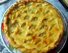 Tarta de repollitos de bruselas brocoli y maiz